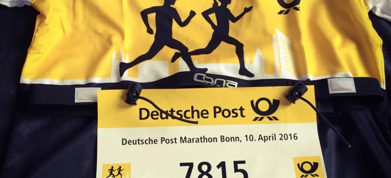 Halbmarathon Deutsch Post Marathon Bonn