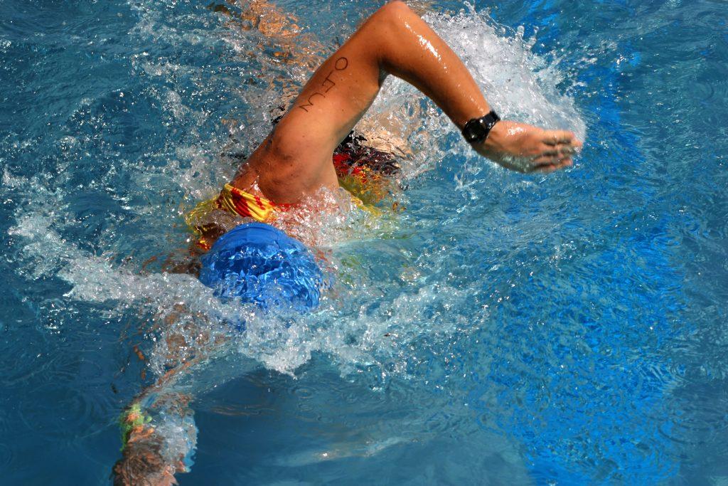 Technikfehler beim Kraulschwimmen