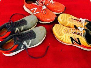 Schuhe Abwechslung