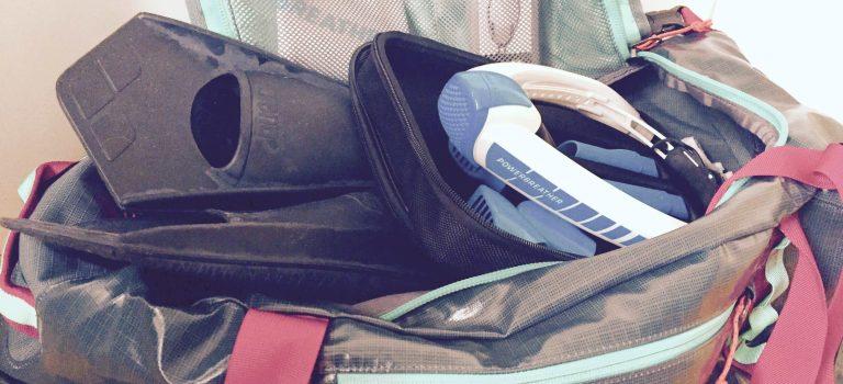 Wasserfeste Sporttasche für mein Equipment – Patagonia Sporttasche