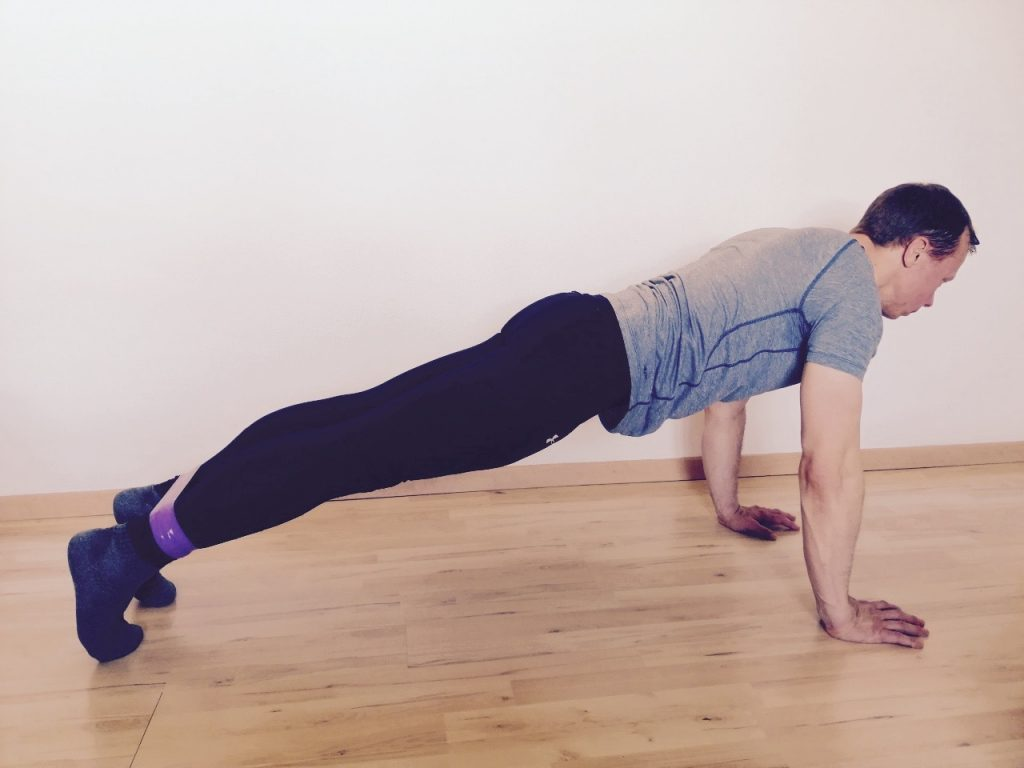 High Plank Leg Lifts