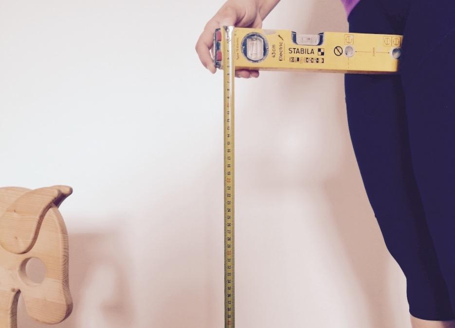 Schrittlänge richtig messen