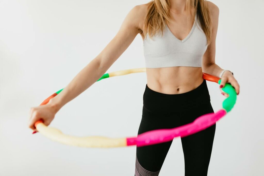 Hula-Hoop-Workout